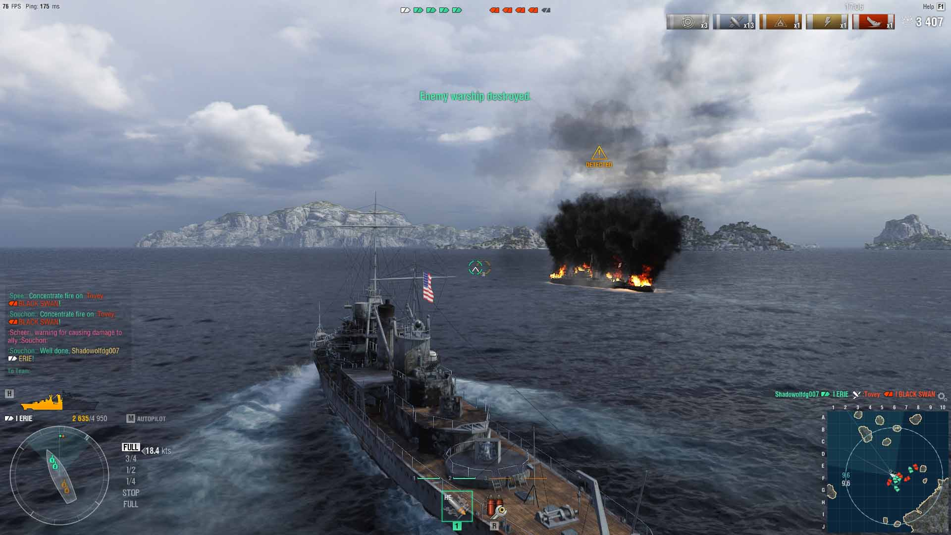 world of warships realistic graphics